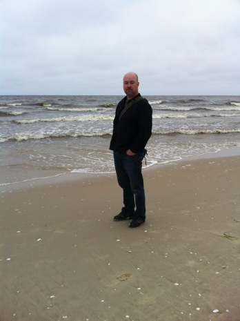 Ben at the Baltic Sea
