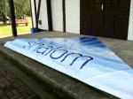 The Shalom banner