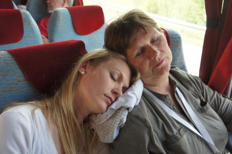 Oksana and her mom