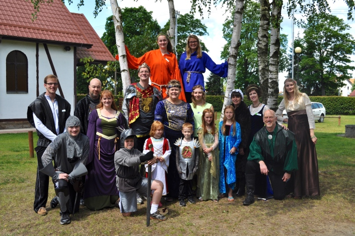 Our Team for the Narnia-Themed Ukrainian Children's Camp