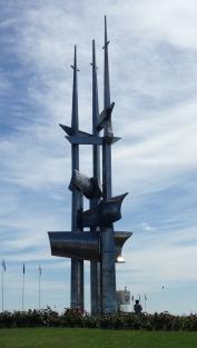 A cool sculpture in Gdynia